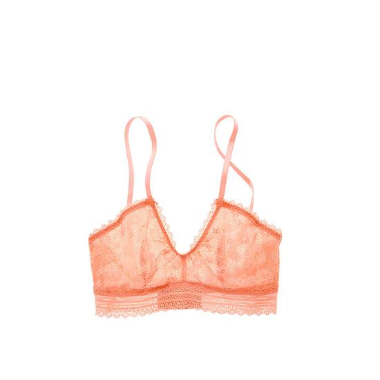 Cheap VICTORIA\'S SECRET Lipsmacker Lace Scoopneck Bralette Online