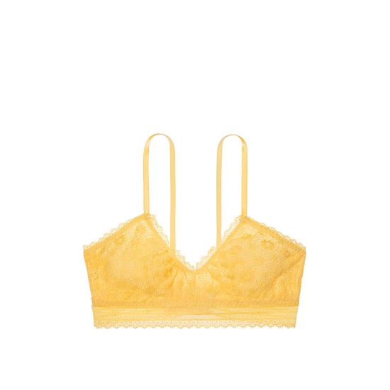 Cheap VICTORIA\'S SECRET Light Comet Lace Scoopneck Bralette Online