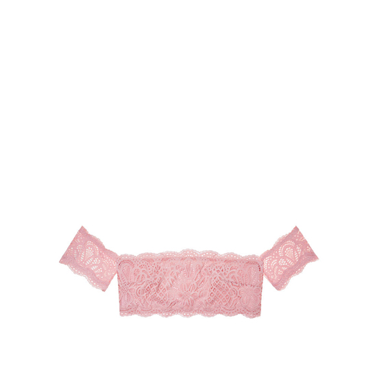 Cheap VICTORIA\'S SECRET Winter Rose Off-the-Shoulder Bralette Online