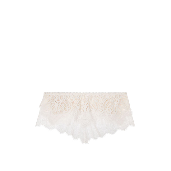 Cheap VICTORIA\'S SECRET Coconut White With Chantilly Lace NEW! Crochet Lace Flutter Bralette Online