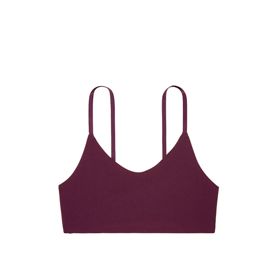 Cheap VICTORIA\'S SECRET Ruby Wine Lace Back Scoopneck Bralette Online