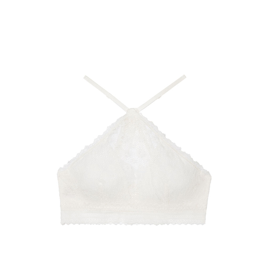 Cheap VICTORIA\'S SECRET Coconut White High-neck Bralette Online