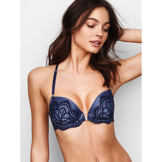 Cheap VICTORIA\'S SECRET Ensign Solid Lace Demi Bra Online