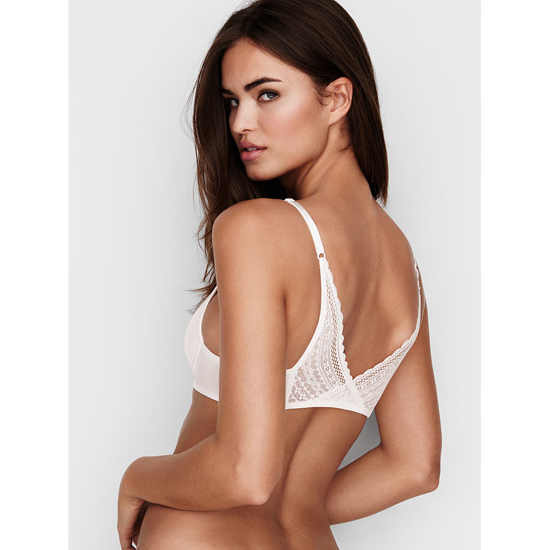 Cheap VICTORIA\'S SECRET Coconut White Ballet Back Demi Bra Online
