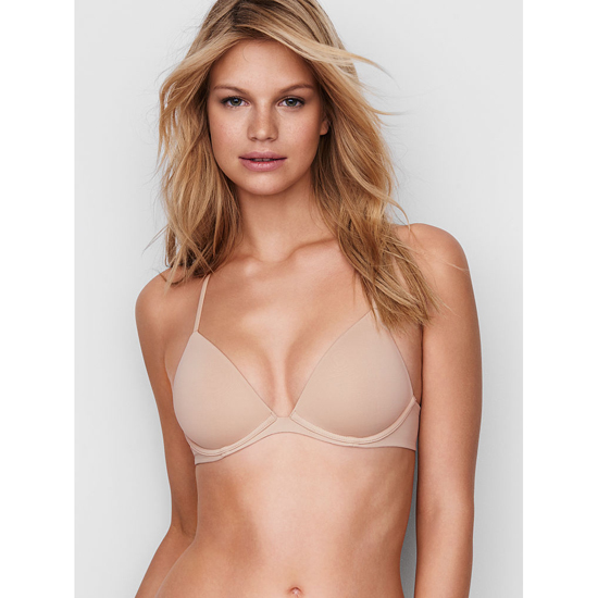 Cheap VICTORIA\'S SECRET New Nude Lightly Lined Triangle Bralette Online