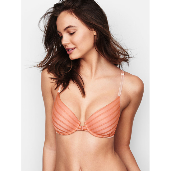 Cheap VICTORIA'S SECRET Front-Close Ginger Glaze Demi Bra Online