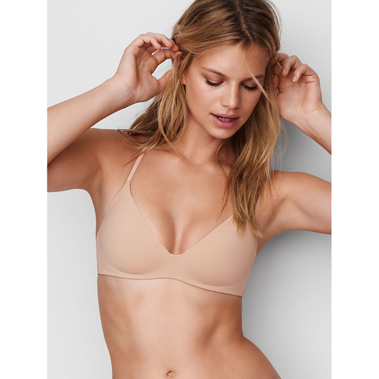 Cheap VICTORIA'S SECRET New Nude Lightly Lined Wireless Bra Online