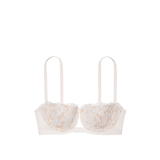 Cheap VICTORIA\'S SECRET Coconut White With New Nude Lace Balconet Bra Online