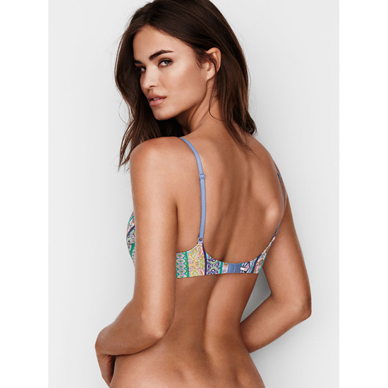 Cheap VICTORIA\'S SECRET  Printed Paisley Lightly Lined Wireless Bra Online