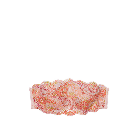 Cheap VICTORIA\'S SECRET Lip Smacker With Chantilly Lace NEW! Crochet Lace Strapless Bralette Online