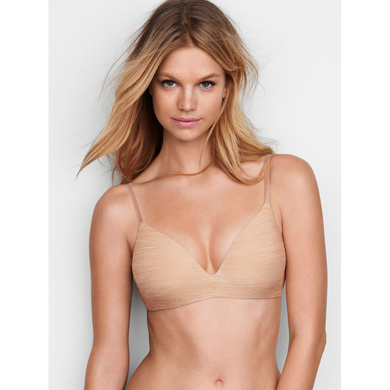 Cheap VICTORIA\'S SECRET Almost Nude Marl NEW! Wireless Bra Online