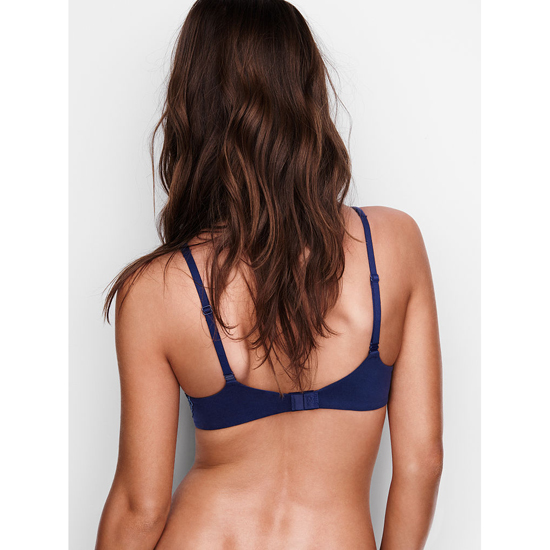Cheap VICTORIA\'S SECRET Ensign With Faded Denim Crossdye NEW! Perfect Coverage Bra Online