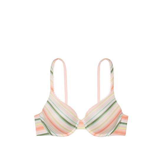 Cheap VICTORIA\'S SECRET Warm Stripe Print NEW! Perfect Coverage Bra Online