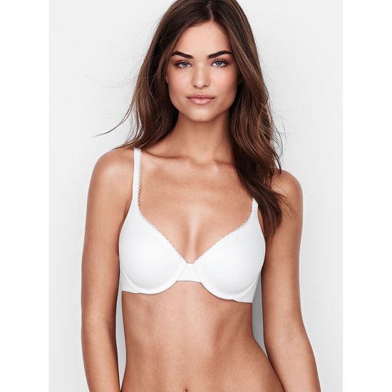 Cheap VICTORIA'S SECRET White NEW! Perfect Coverage Bra Online
