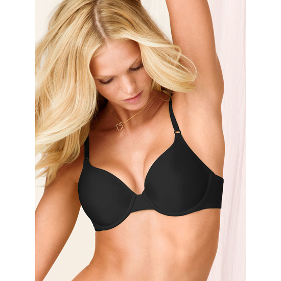 Cheap VICTORIA\'S SECRET Black Perfect Coverage Bra Online