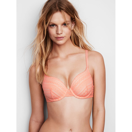 Cheap VICTORIA\'S SECRET Lip Smacker Lace NEW! Perfect Coverage Bra Online