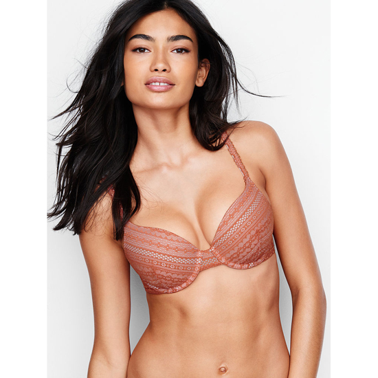 Cheap VICTORIA\'S SECRET Ginger Glaze Lace NEW! Perfect Coverage Bra Online