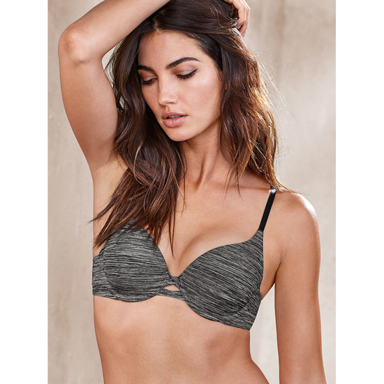 Cheap VICTORIA\'S SECRET Black Marl Perfect Shape Bra Online