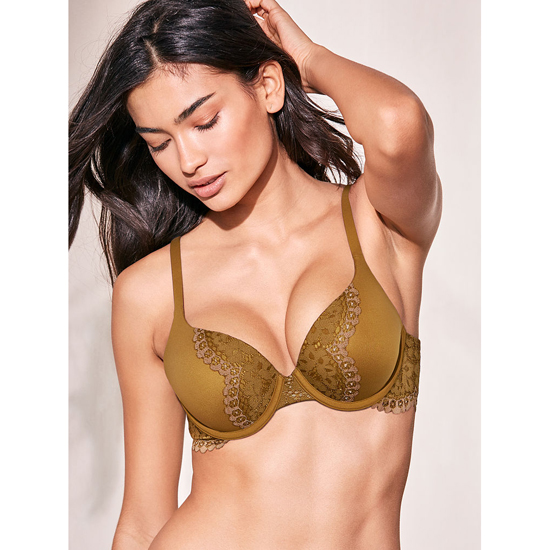 Cheap VICTORIA\'S SECRET Bronze Brown With Almost Nude Crossdye NEW! Perfect Shape Bra Online