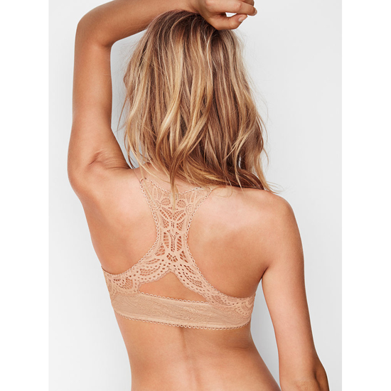 Cheap VICTORIA\'S SECRET Front-Close Sugar Cookie Lace With Chantilly Lace NEW! Push-Up Bra Online