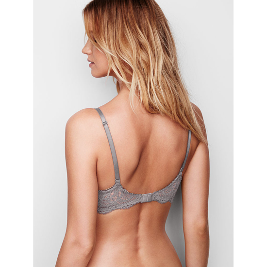 Cheap VICTORIA\'S SECRET Sterling Pewter With Solid Lace NEW! Push-Up Bra Online