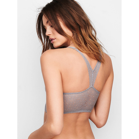 Cheap VICTORIA\'S SECRET Sterling Pewter Lace NEW! Easy Push-Up Bra Online