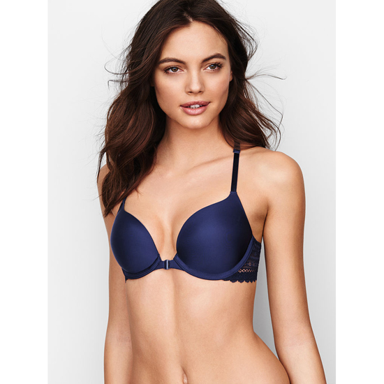 Cheap VICTORIA\'S SECRET Ensign Triangle Lace Racerback Push-Up Bra Online