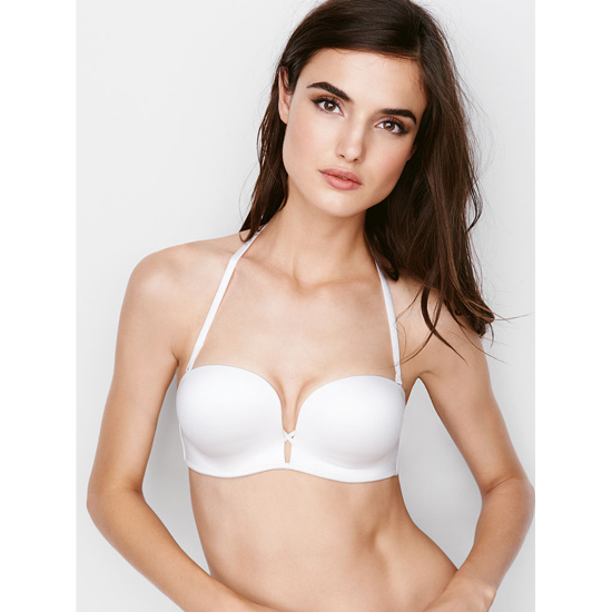 Cheap VICTORIA\'S SECRET White NEW! Add-2-Cups Multi-Way Push-Up Bra Online