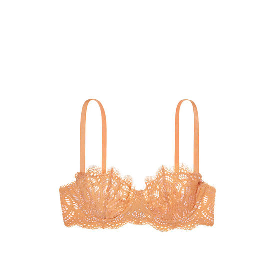 Cheap VICTORIA\'S SECRET Gold Earth Lace The Unlined Uplift Bra Online