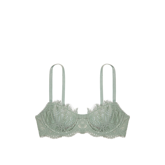 Cheap VICTORIA\'S SECRET Silver Sea Lace The Unlined Uplift Bra Online