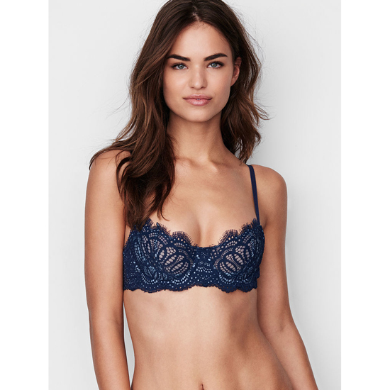 Cheap VICTORIA'S SECRET Ensign Lace The Unlined Uplift Bra Online