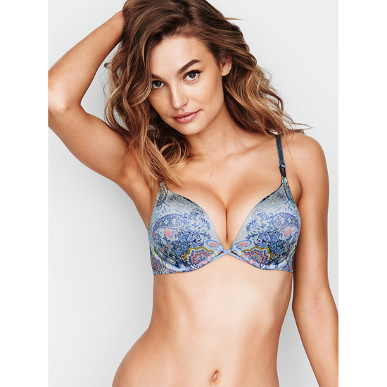 Cheap VICTORIA\'S SECRET Caravan Print NEW! Add-2-Cups Push-Up Bra Online
