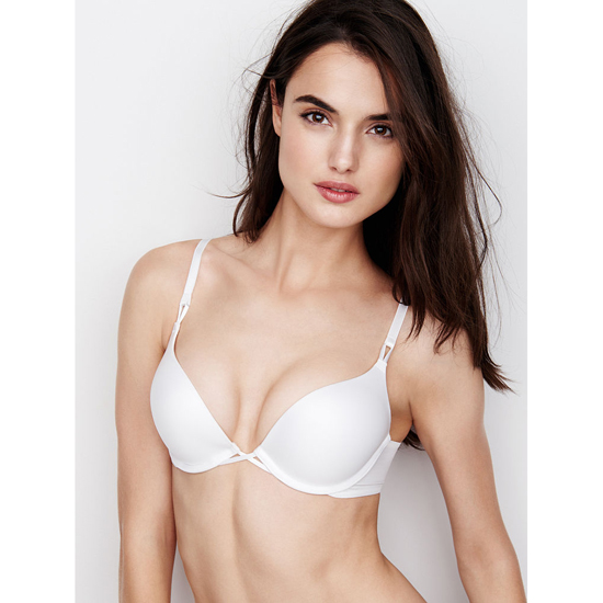 Cheap VICTORIA\'S SECRET White NEW! Add-2-Cups Push-Up Bra Online