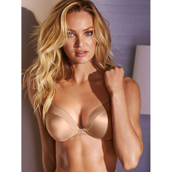 Cheap VICTORIA\'S SECRET Nude NEW! Add-1½-Cups Push-Up Bra Online