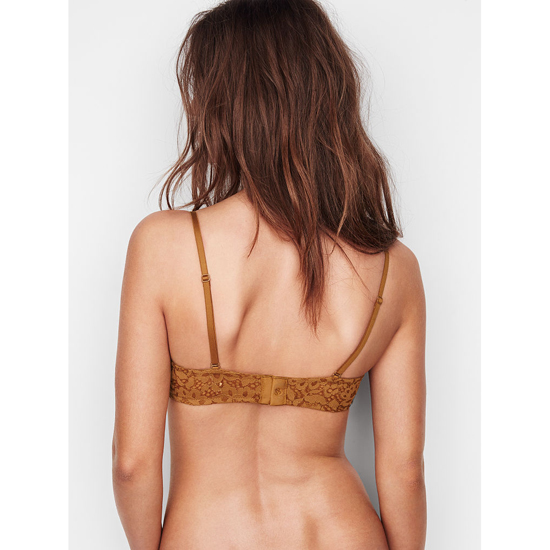 Cheap VICTORIA\'S SECRET Bronze Brown With Almost Nude Crossdye NEW! Strapless Balconet Bra Online