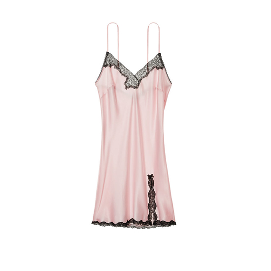 Cheap VICTORIA\'S SECRET Angel Pink Lace-trim Slip Online