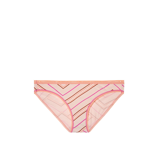 Cheap VICTORIA\'S SECRET English Rose Mix Stripe Low-rise Bikini Panty Online