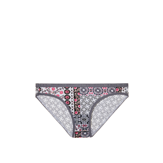 Cheap VICTORIA\'S SECRET Iconic Geo Patchwork Print Low-rise Bikini Panty Online