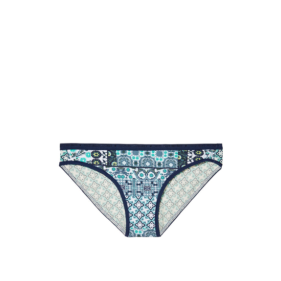 Cheap VICTORIA'S SECRET Aqua Splash Geo Patchwork Print Low-rise Bikini Panty Online