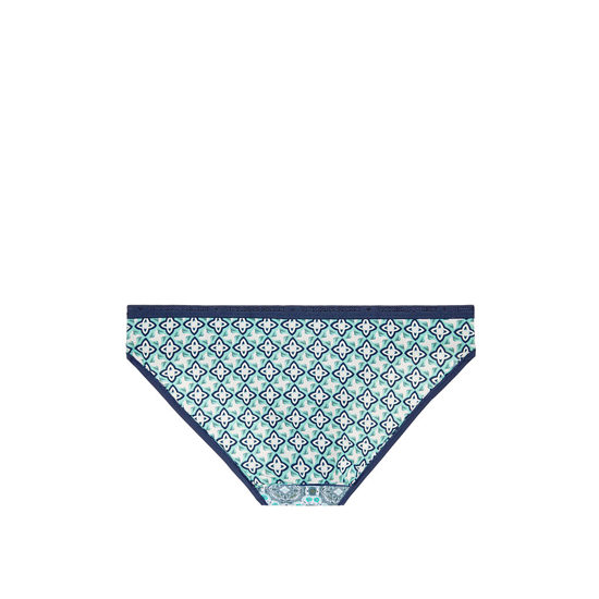 Cheap VICTORIA\'S SECRET Aqua Splash Geo Patchwork Print Low-rise Bikini Panty Online