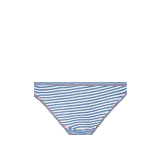 Cheap VICTORIA\'S SECRET Faded Denim Skinny Stripe Low-rise Bikini Panty Online