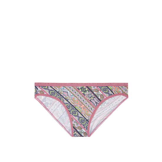 Cheap VICTORIA'S SECRET Rosy Mauve Diagonal Stripe NEW! Bikini Panty Online