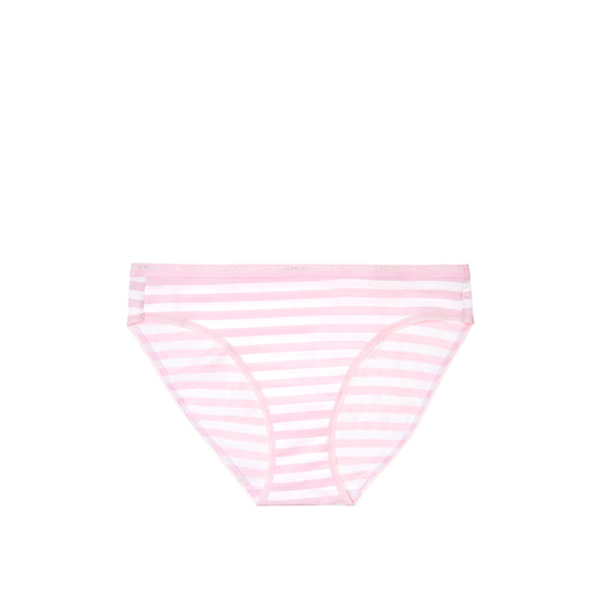 Cheap VICTORIA'S SECRET Pink Stripe NEW! Bikini Panty Online