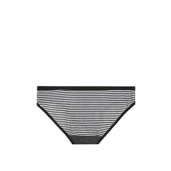 Cheap VICTORIA\'S SECRET Black Skinny Stripe NEW! Bikini Panty Online