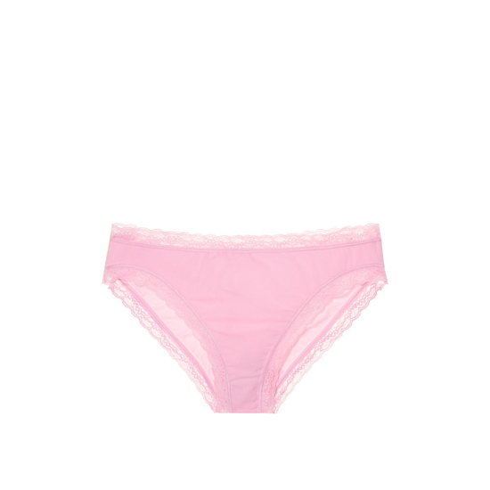 Cheap VICTORIA'S SECRET Pink Bubble NEW! Lace-trim High-leg Brief Panty Online
