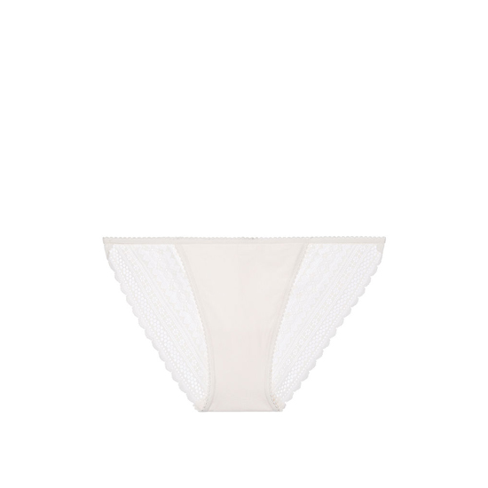 Cheap VICTORIA\'S SECRET Coconut White NEW! Lace-back String Bikini Panty Online