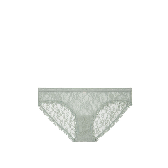 Cheap VICTORIA'S SECRET Silver Sea Lace Bikini Panty Online