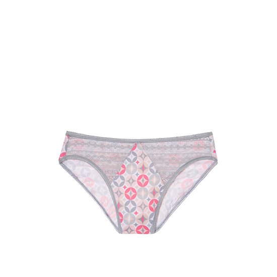 Cheap VICTORIA'S SECRET Iconic Circles Geo Print NEW! Diamond Lace High-Leg Brief Panty Online