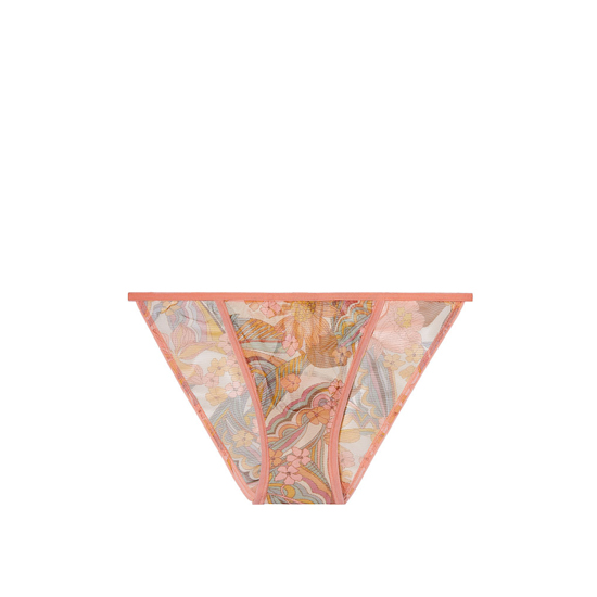Cheap VICTORIA\'S SECRET Summer Floral Print NEW! Mesh String Bikini Panty Online