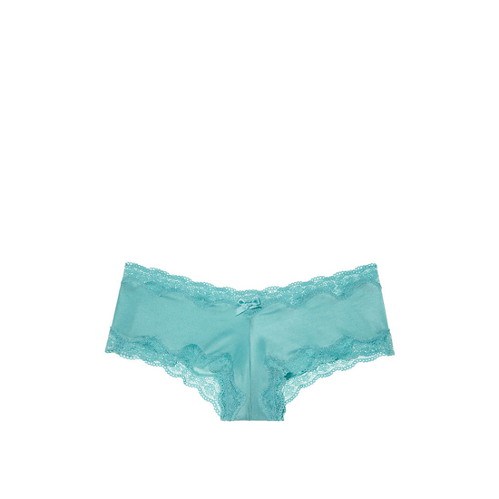 Cheap VICTORIA\'S SECRET Cozumel Teal Lace-Trim Cheeky Panty Online